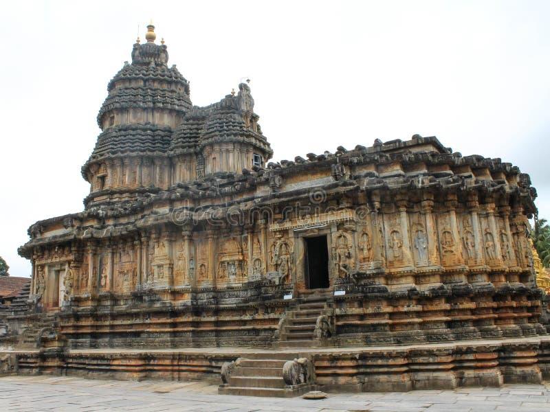 Sringheri-Tempel bei Karnataka lizenzfreies stockfoto
