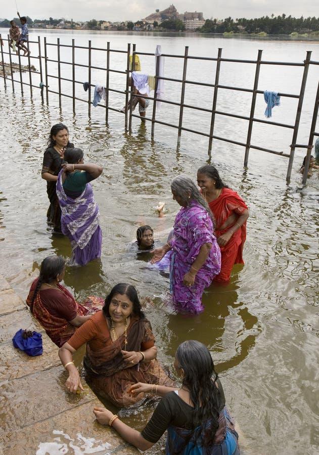 Srirangam около Tiruchirapalli - Тамильского языка Nadu - Индии стоковые фото
