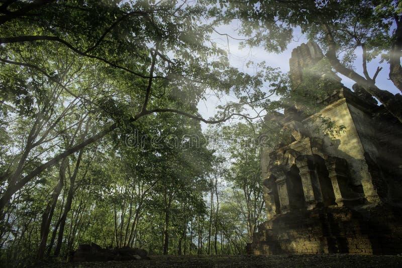 Srisat Chanalai Dziejowy park 5 fotografia royalty free