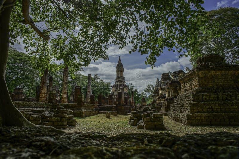 Srisat Chanalai Dziejowy park 2 zdjęcia royalty free