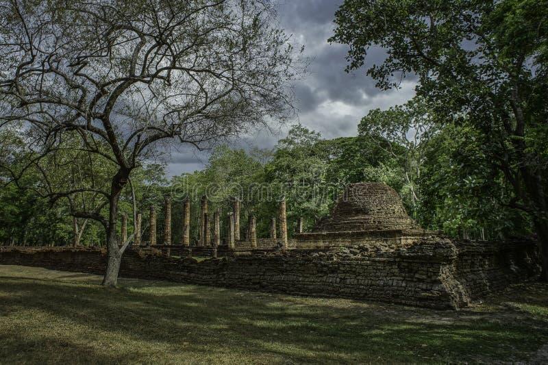 Srisat Chanalai Dziejowy park 1 zdjęcie royalty free