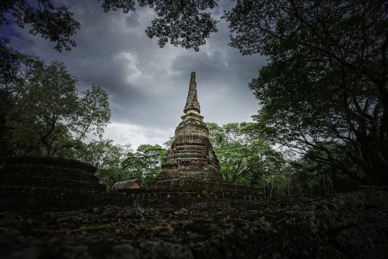 Srisat Chanalai H istorical park zdjęcia stock