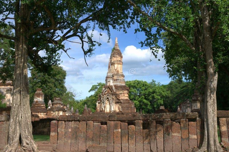 SriSatchanalai Historical Park. History Temple in Sukhothai, Thailand stock photography