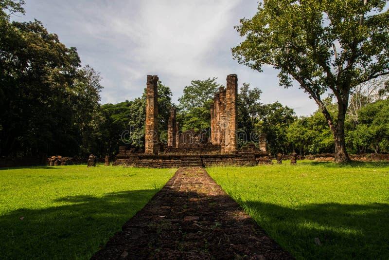 Srisatchanalai historical park in Sukhothai province,. Thailand stock photography