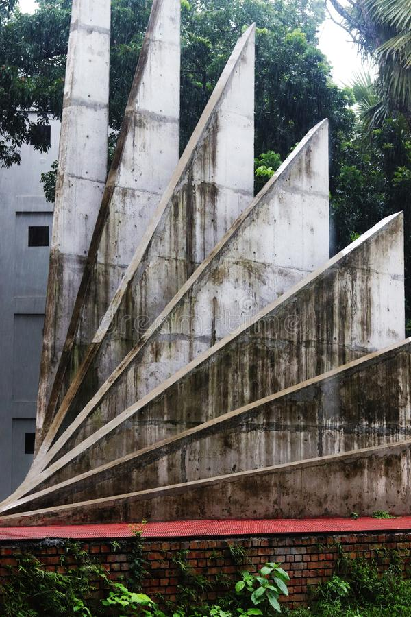 Srity shoudho Seitenansicht in singra, Natore, BD lizenzfreie stockfotos
