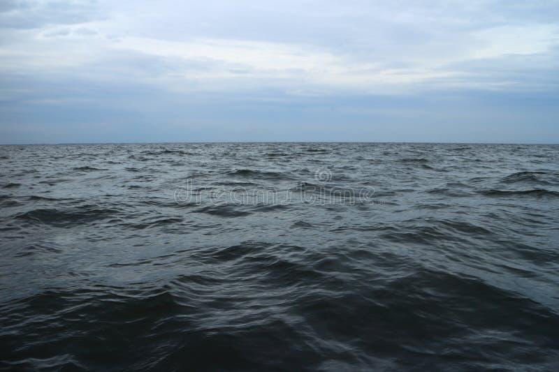 Srogi zimny Barents morze fotografia royalty free