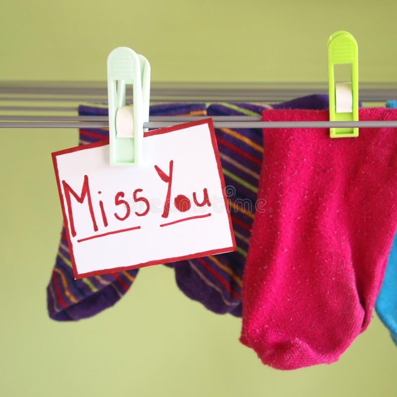 Srta. usted imágenes de archivo libres de regalías
