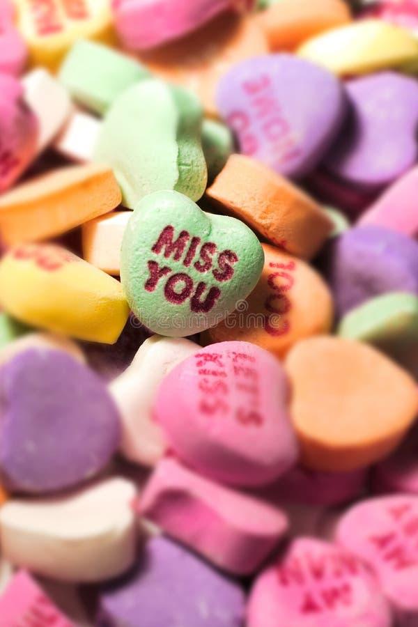 Srta. usted caramelo fotografía de archivo