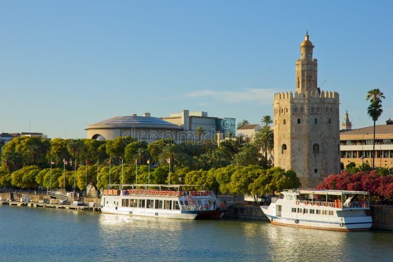 Srville,西班牙都市风景  免版税库存图片