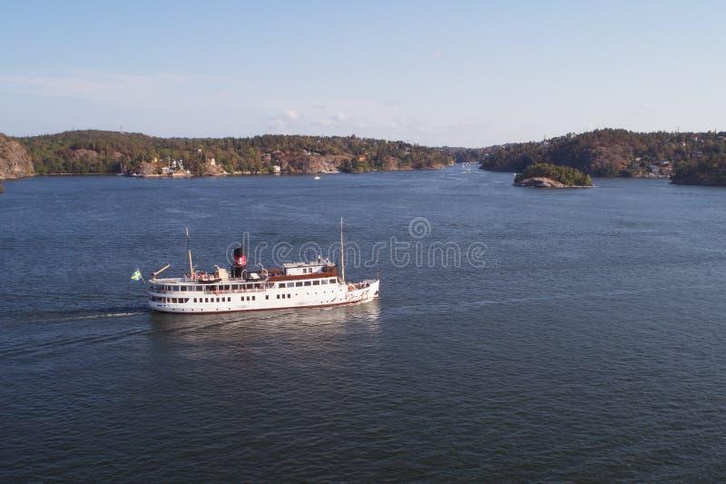 SS Стокгольм стоковое фото rf