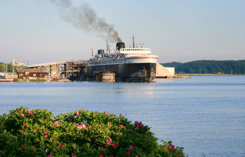Ss Badger Car Ferry Editorial Photography Image Of Coal 47705252