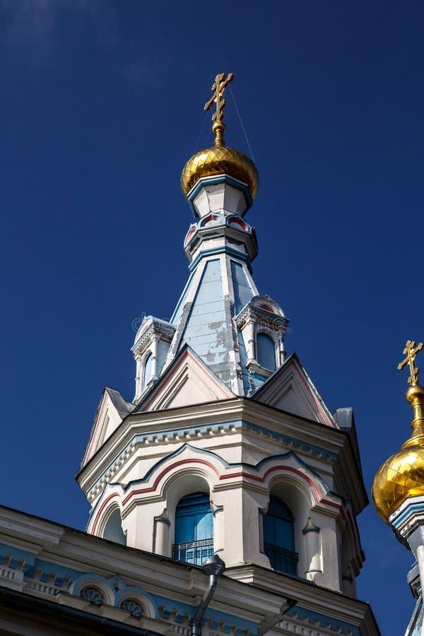 Ss Boris i Gleba katedra obrazy stock