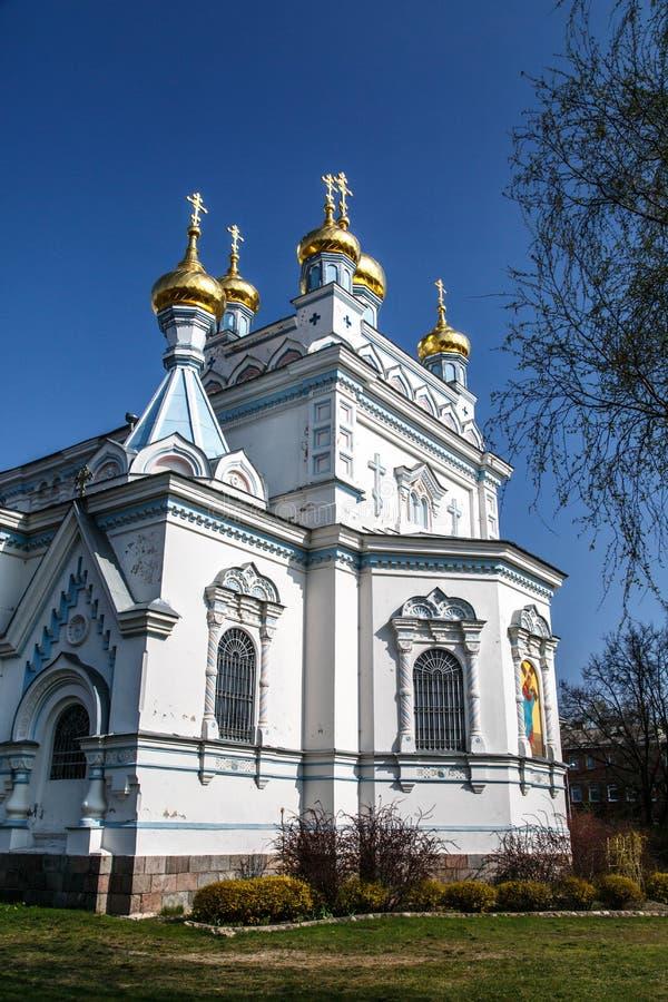 Ss Boris i Gleba katedra zdjęcia royalty free