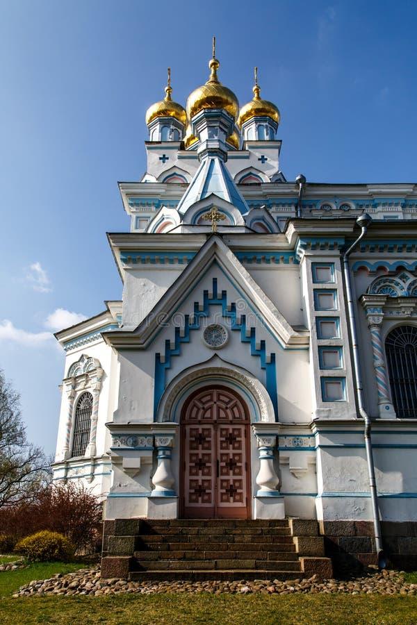 Ss Boris i Gleba katedra zdjęcia stock