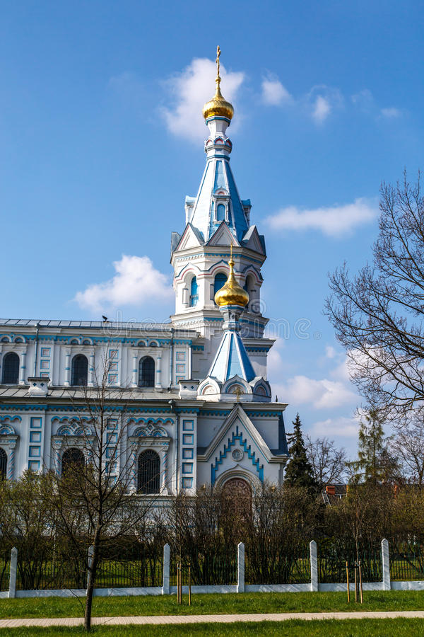 Ss Boris i Gleba katedra obrazy royalty free