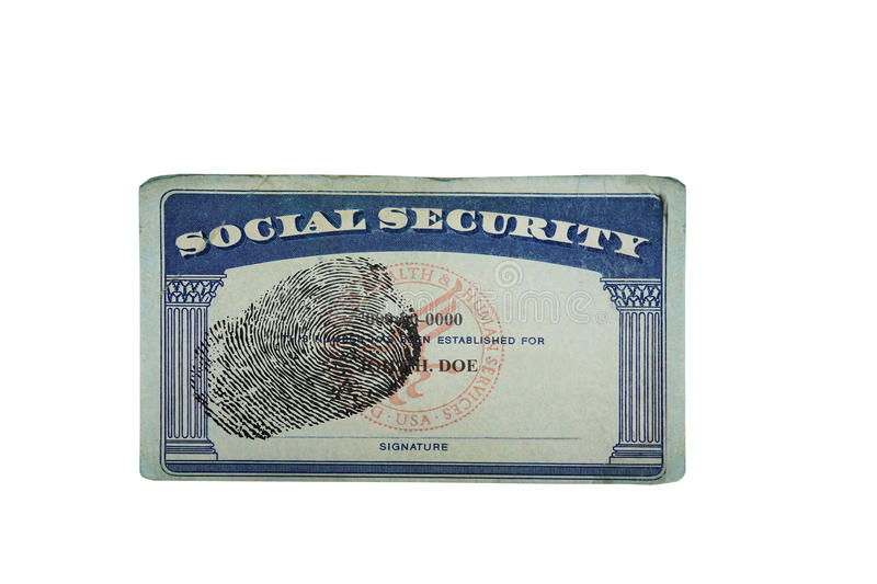 It is a photo of Printable Social Security Card Template throughout font