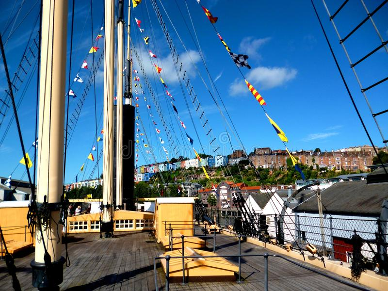 SS Great Britain, Bristol royaltyfria bilder