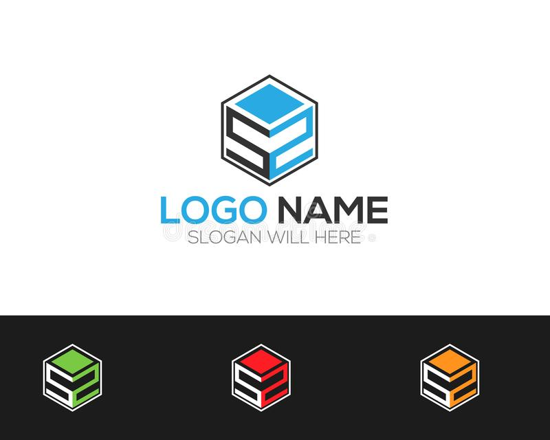 SS Letter Logo Template online store vectors illustration. This is very easy to use. U ca Use as your won simply royalty free illustration