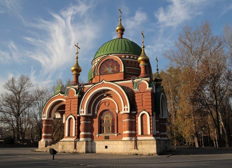 SS. Peter-und Paul-Tempel. Lipetsk. Russland. lizenzfreie stockfotografie