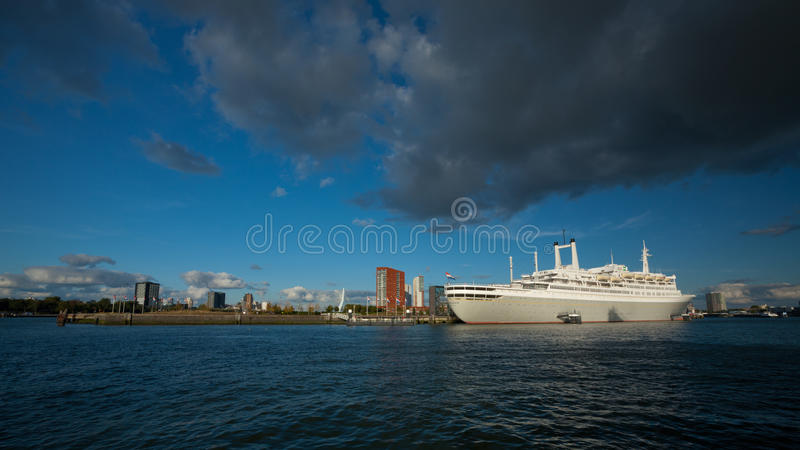 SS Rotterdam Cruise Ship, The Netherlands Editorial Stock Image
