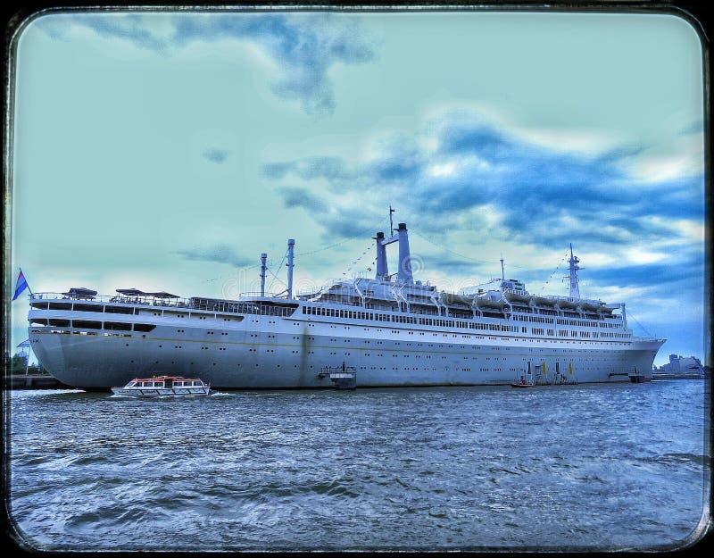 SS Rotterdam stock photography