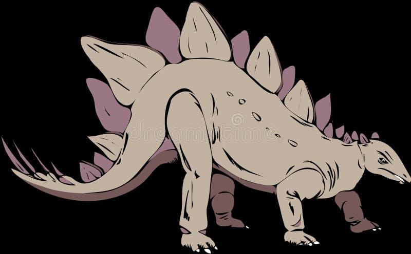 Ssak, kreskówka, dinosaur, fauna obrazy stock