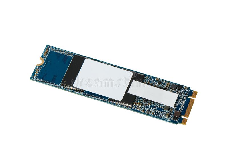 SSD de SATA con M conector 2 fotos de archivo
