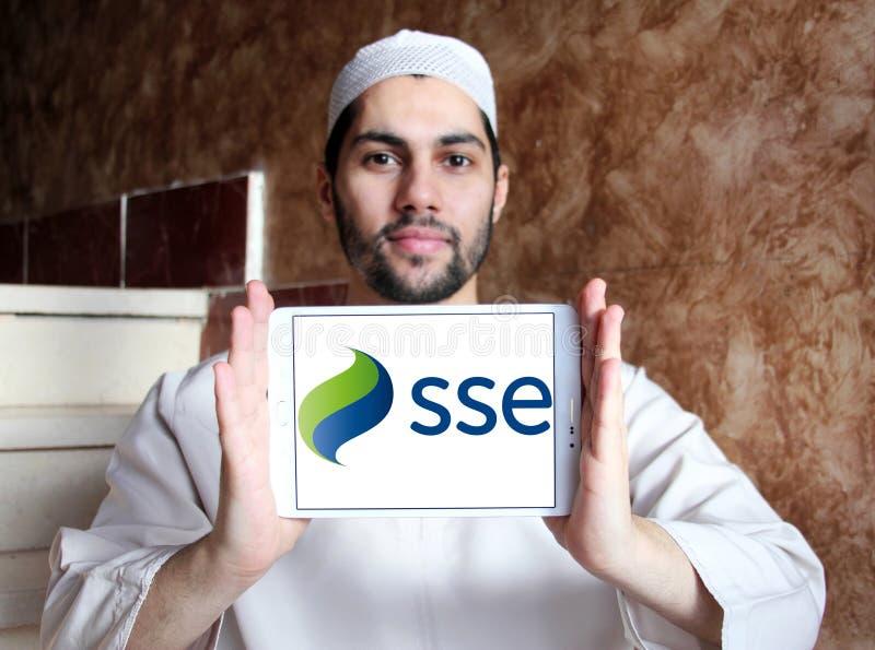Sse-Energiekonzernlogo lizenzfreie stockbilder