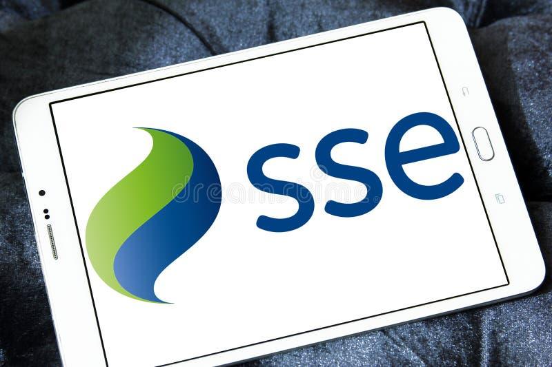 Sse-Energiekonzernlogo stockfotografie