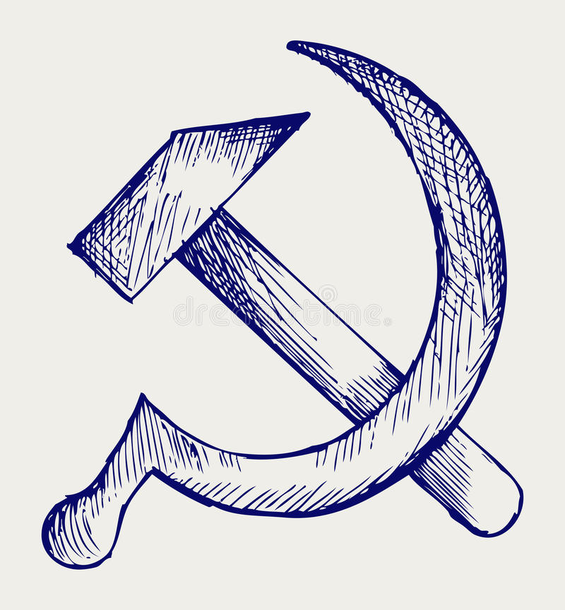 Download SSSR stock vector. Image of communism, award, doodle - 27927853