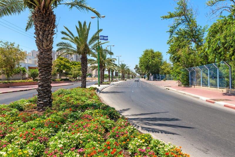 Städtische Ansicht Ashqelon stockfotografie