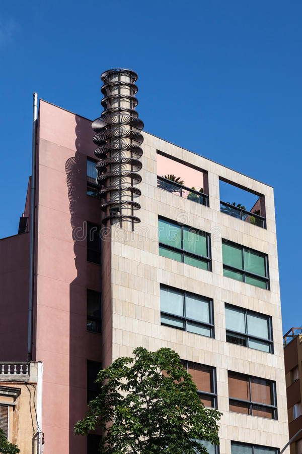 Städtische Architektur stockbilder