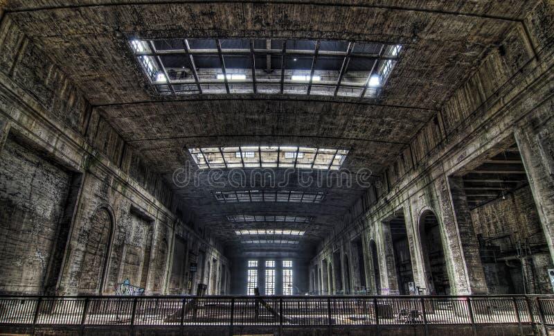 Städtische Erforschung der Triebwerkanlage stockfotografie
