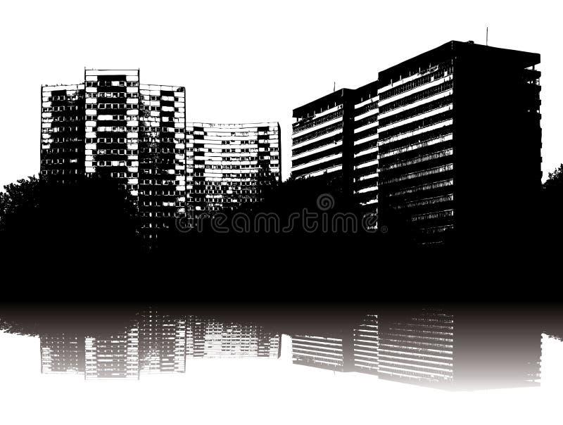 Städtische Freude vektor abbildung