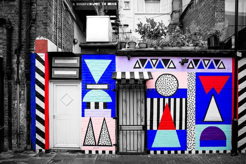 Städtische Graffiti lizenzfreies stockbild
