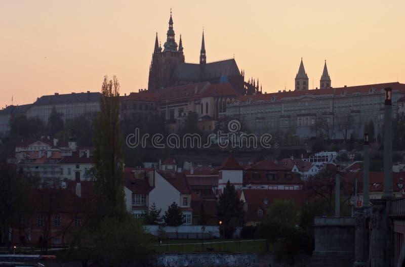 Städtische Landschaft Prag, Tschechische Republik lizenzfreies stockfoto