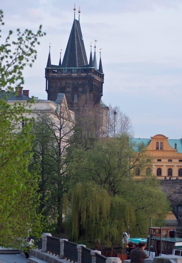 Städtische Landschaft Prag, Tschechische Republik lizenzfreie stockfotos