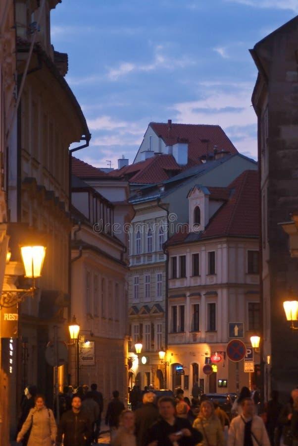 Städtische Landschaft Prag, Tschechische Republik stockbild