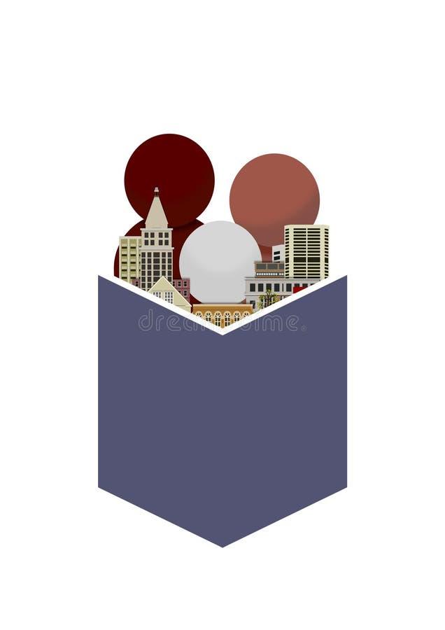 Städtische Lesung stockfotografie
