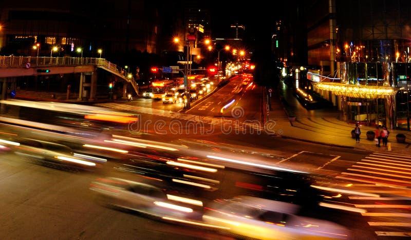 Städtische Nacht lizenzfreies stockfoto