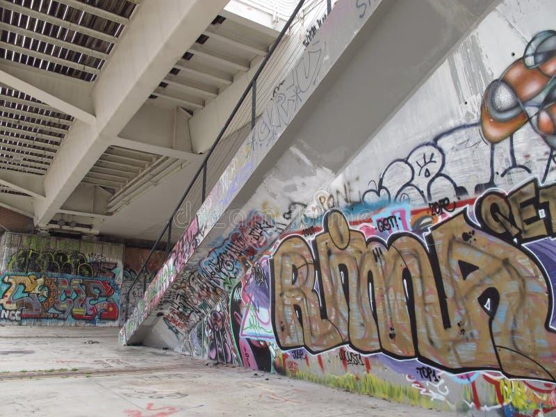 Städtische Verminderung der Vororte in Rom lizenzfreie stockfotos