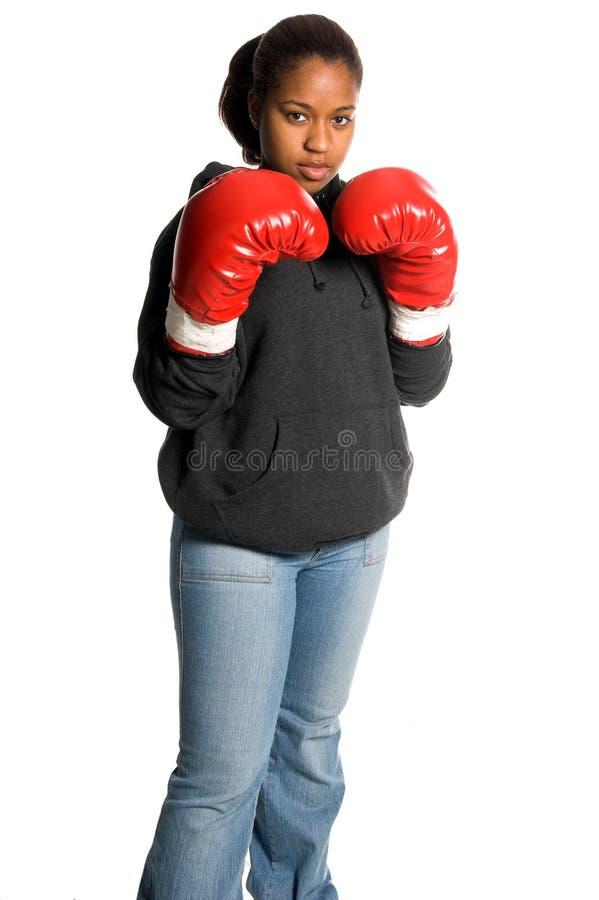 Städtischer Boxer stockfoto