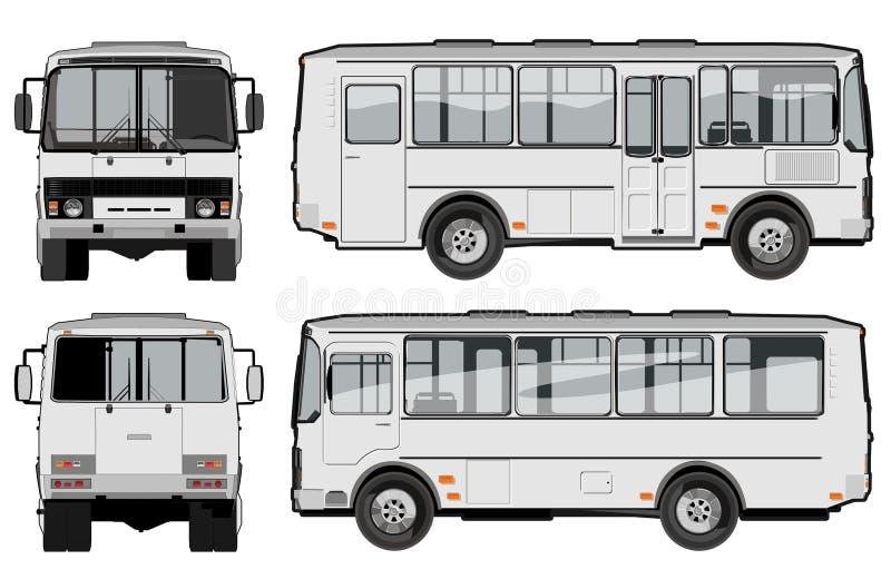 Städtischer/Stadtfluggastbus vektor abbildung