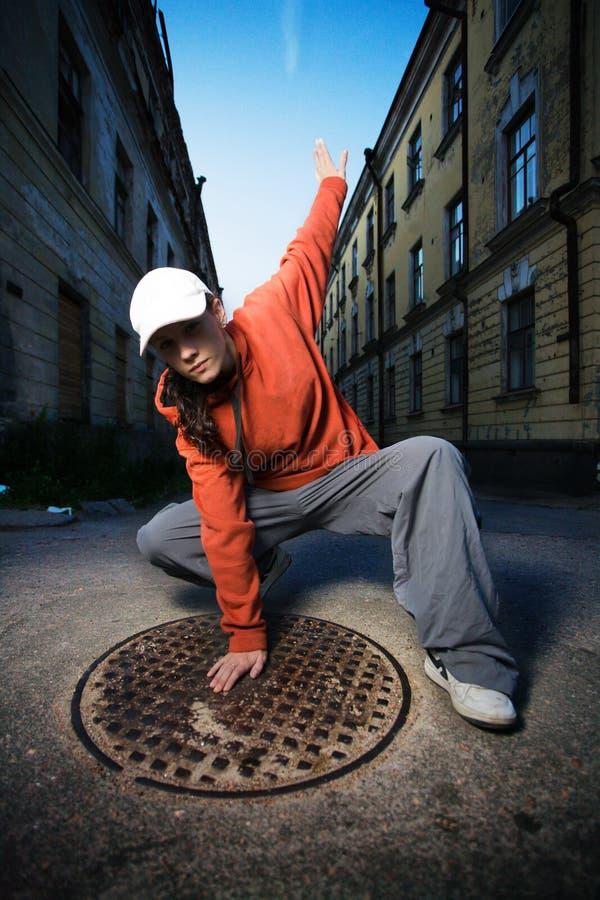 Städtischer Tänzer lizenzfreies stockbild