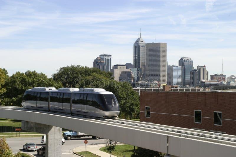 Städtischer Transport stockfotografie