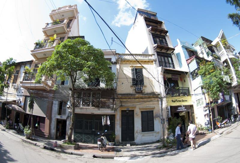 Städtisches Hanoi lizenzfreie stockfotografie