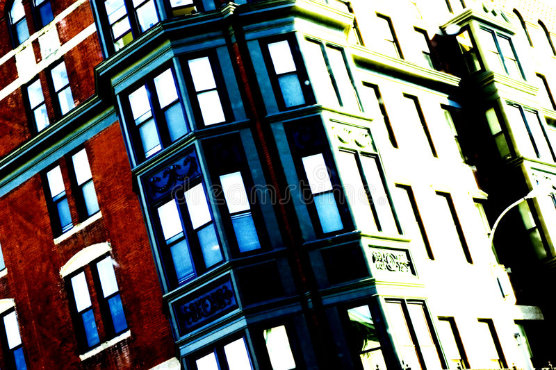Städtisches Leben lizenzfreies stockfoto