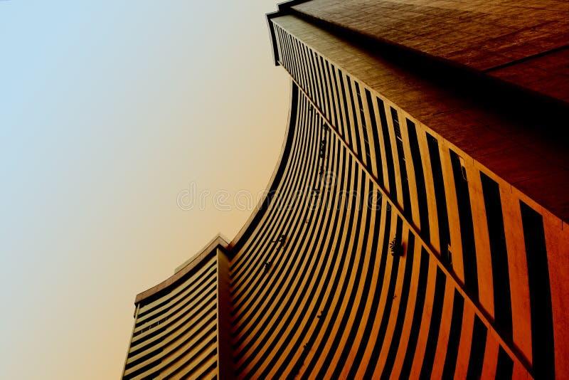 Städtisches Muster - Gebäude stockbilder