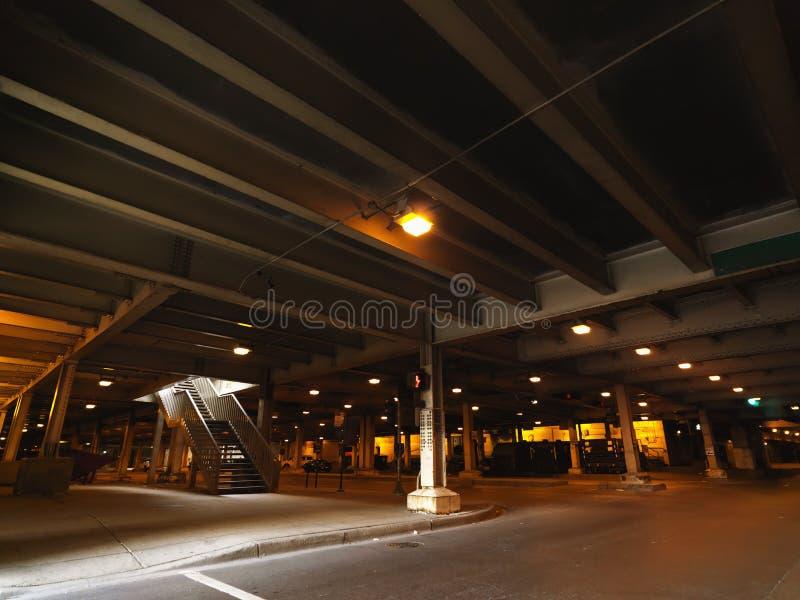 Städtisches Parken in Chicago lizenzfreie stockfotografie