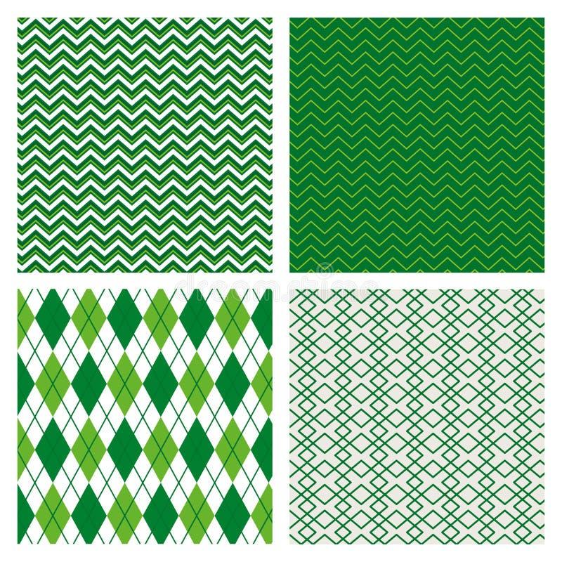 Ställ in abstrakt textur med bakgrund för den geometriska designen stock illustrationer